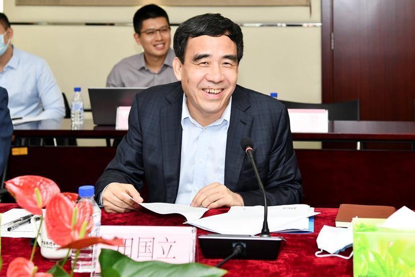 中国银行业协会会长、中国建设银行董事长田国立致辞