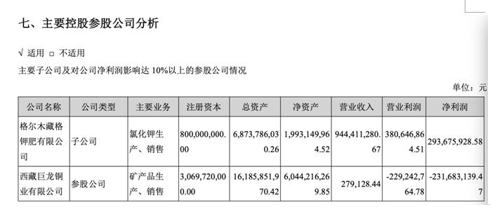 *ST藏格净利降两成:前三大股东全数质押持股 参股公司亏2亿