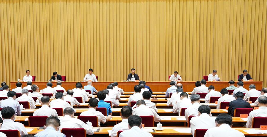 习近平在中央第七次西藏工作座谈会上强调 全面贯彻新时代党的治藏方略 建设团结富裕文明和谐美丽的社会主义现代化新西藏