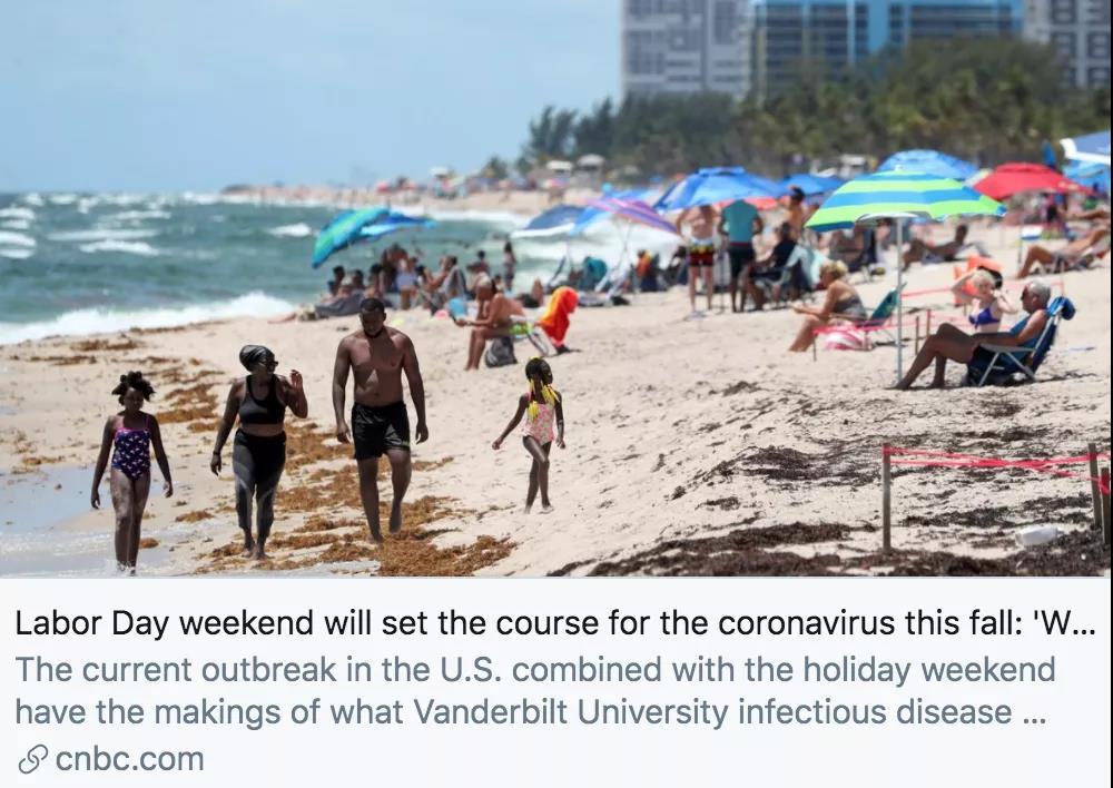 死亡病例超18.7万,新冠肺炎已成美国第二大致死原因