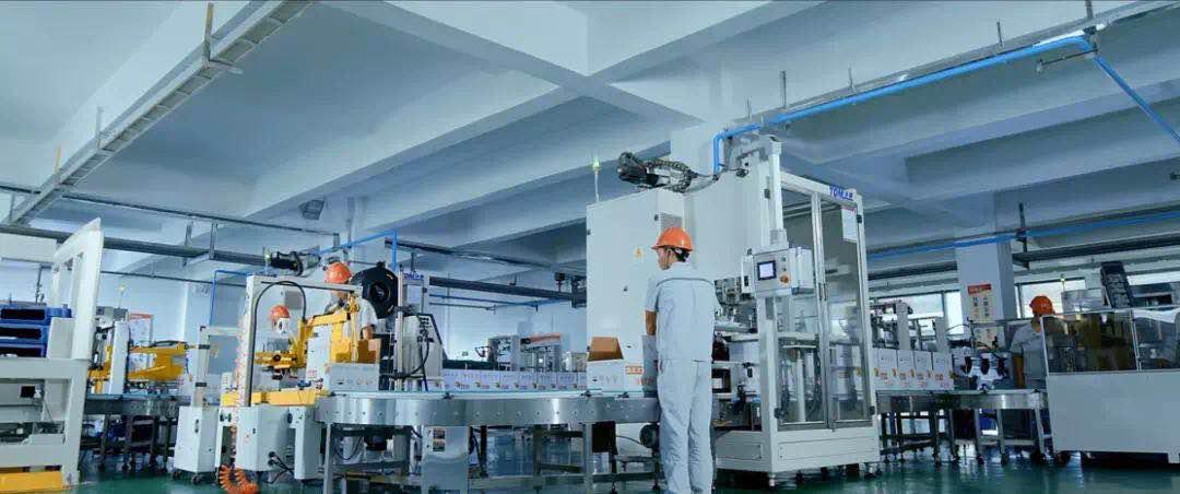 金正大集团智能设备生产线