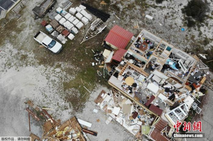 """飓风""""莎莉""""致美国南部经济损失数千万美元"""