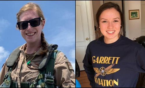 CBS:美国海军又摔飞机两名女飞行员军人死亡 飞机在居民区坠毁爆炸引发大火