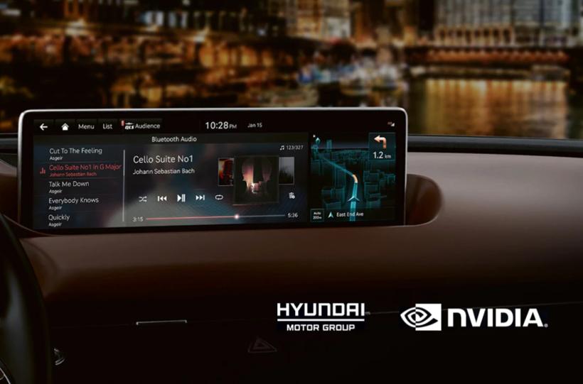 现代:2022年后所有品牌新车标配英伟达DRIVE网联汽车平台