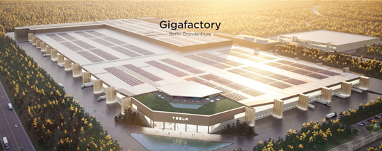 特斯拉柏林工厂明年1月将雇佣7000名员工