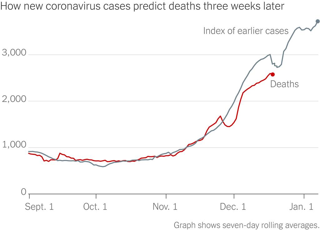 """北美观察丨每41秒有一名美国人死于新冠肺炎 """"假日疫情""""警报再次拉响"""