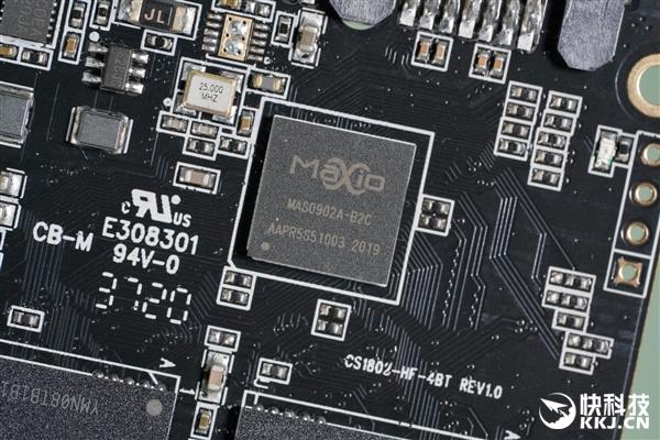 usdt不用实名(caibao.it):纯国产SSD 读取550MB/s 铭�太极512GB固态硬盘图赏 第8张