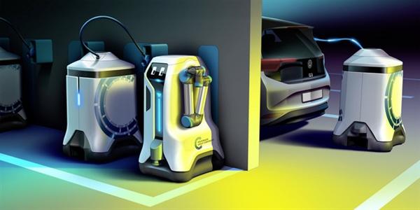 电银付小盟主(dianyinzhifu.com):解决充电难问题!民众移动充电机器人将量产落地:可自主为汽车充电 第2张
