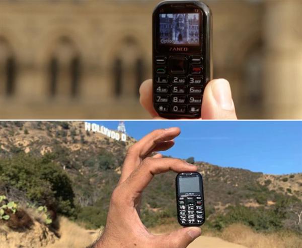 电银付(dianyinzhifu.com):号称天下最小手机!Zanco Tiny T2 发售 第3张