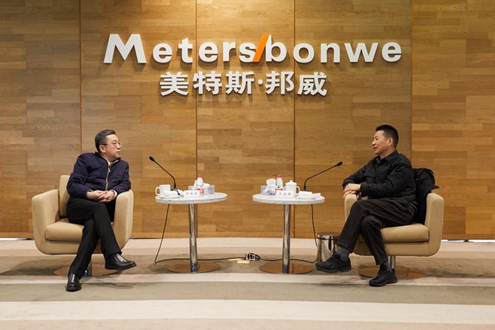 上海市委统战部郑钢淼部长走访调研美邦服饰