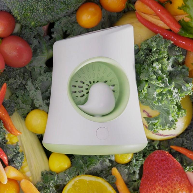 冰箱除味有新招!ICESWEET除味净化器,除味更杀菌。