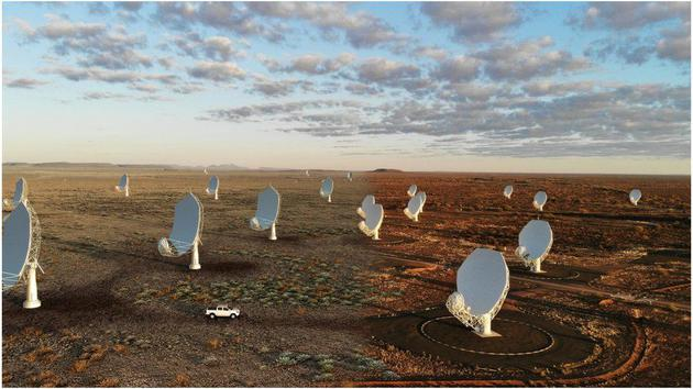 平方千米阵:世界上最大的阵列射电望远镜即将启程