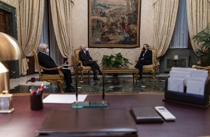 意大利总统正式任命德拉吉为总理 内阁13日宣誓就职