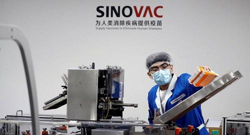 俄媒:巴西权威机构宣布 中国科兴新冠疫苗对巴西变种病毒P1P2均有效