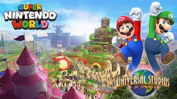 耗资35.7亿!超级任天堂主题乐园正式开放:一比一还原游戏世界