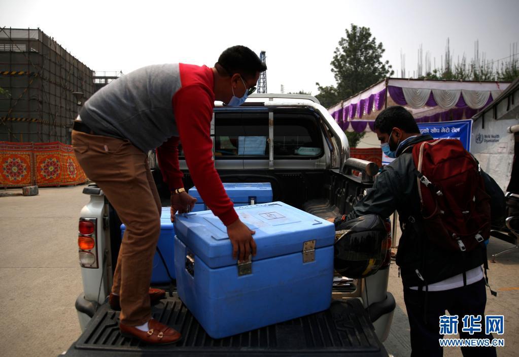 通讯:尼泊尔民众踊跃接种中国援助新冠疫苗