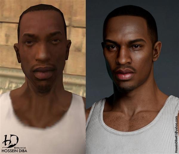 《GTA5》封面比基尼女郎真人现身 大神出3D建模实力还原