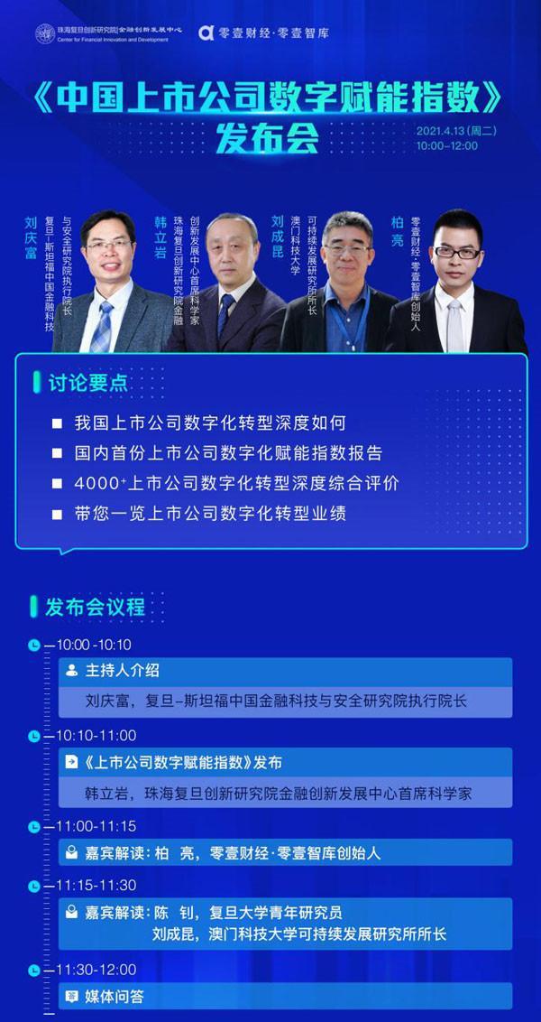 企业数字化转型当立潮头!中国上市公司数字赋能指数重磅发布