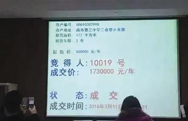 中学小卖部租赁拍出320万天价,网友估算:每天要挣5000元才保本,当地最新回应