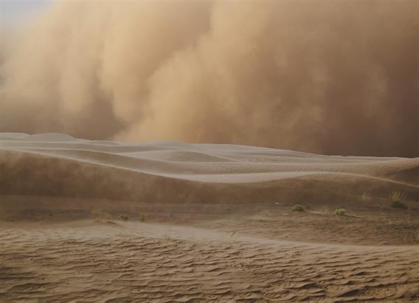 中央气象台发布沙尘暴蓝色预警 将出现扬沙天气:出门做好防护