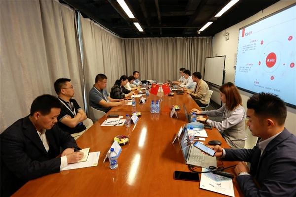 智慧招商成趋势!上海、黑龙江、安徽、山东等地政府参访团莅临普道科技