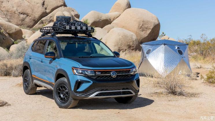改起来! 大众Taos露营概念车官图发布