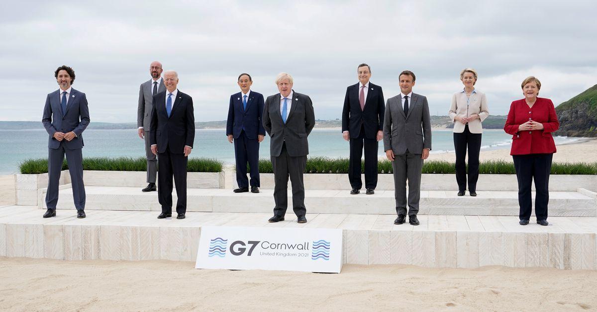 """美高官又放风G7将宣布新全球基建计划对抗中国,网友讽刺:""""失败者联盟"""""""