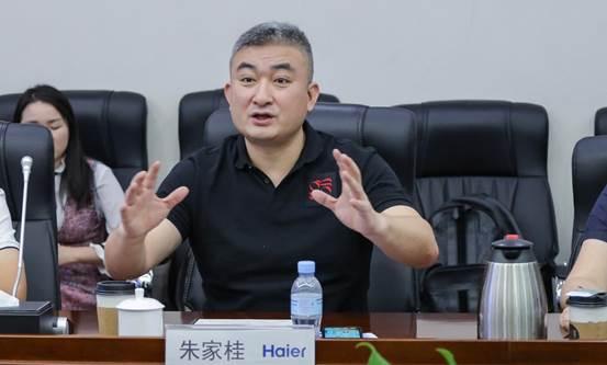 红星美凯龙家居集团实走总裁兼大营运中央总经理朱家桂现场说话