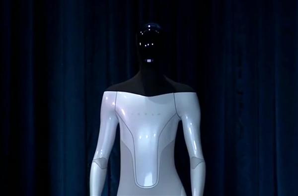 特斯拉发布Tesla Bot人型机器人:身高1米73 明年推出原型机