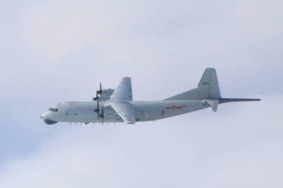 """绿媒还在盯:解放军军机今早进入台西南空域,""""已连续第7天"""""""