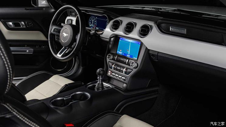 白马王子来袭 Mustang白色特别版发布