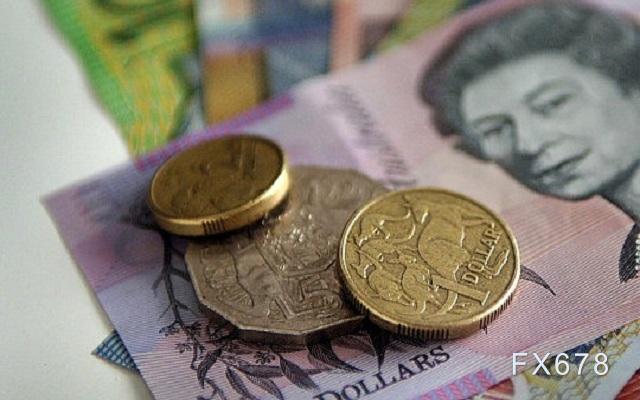 澳元兑美元跌至两周低点,0.7334一线支撑成关键