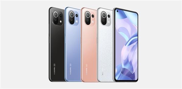 小米11系列最轻5G手机!小米11 Lite NE宣布:骁龙778G加持