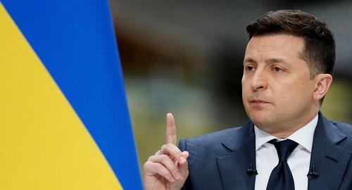 俄媒:乌克兰总统称东部顿巴斯武装冲突不断死人 超一万五千人遇难