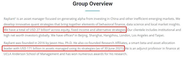 外资私募锐联景淳进军中国市场,创始人许仲翔长期看好中国资产