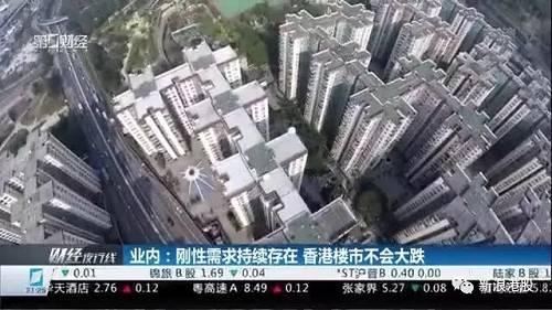 香港房地产会不会崩盘?唱衰声音不断 房价悄悄回升